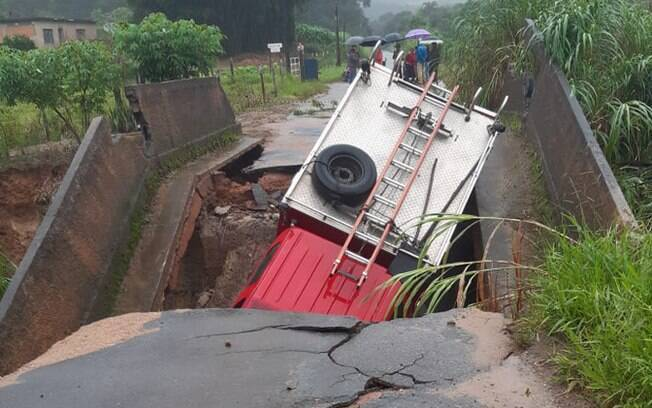 Acidente ocorreu na rodovia MG-135