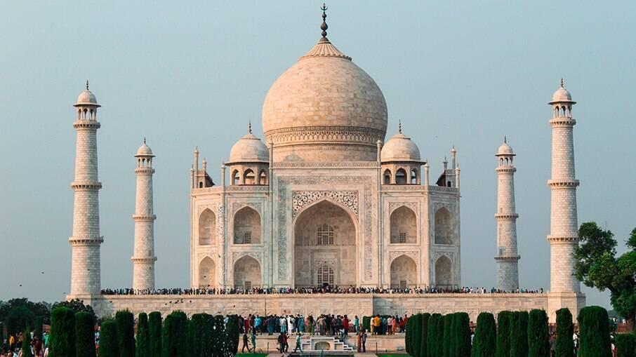 Taj Mahal é considerado um lugar sagrado