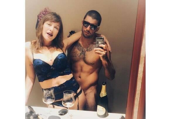 Luana Piovani e Pedro Scooby provaram em foto sensual nas redes sociais