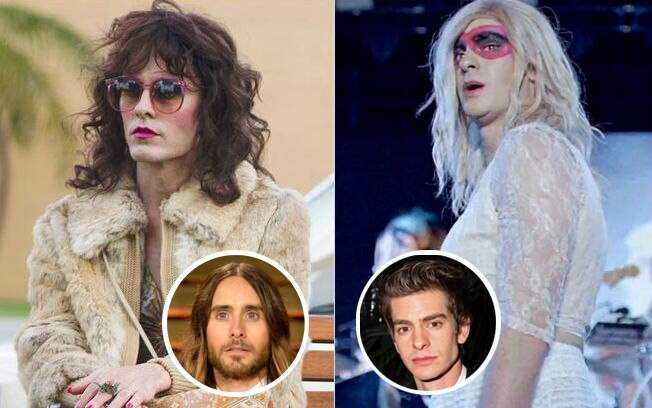 Vivendo trans, Jared Leto e Andrew Garfield levantaram a polêmica do mercado de trabalho para atores e atrizes transexuais