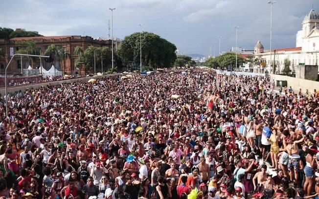 Público do Bloco Domingo Ela Não Vai em 2020