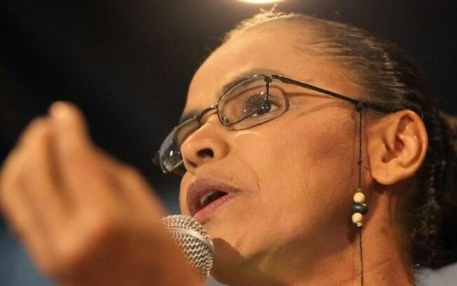 Marina Silva classificou saída do PMDB do governo de