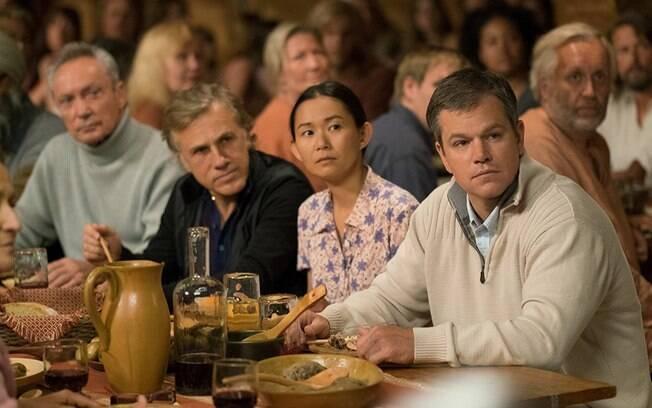 Matt Damon e Christoph Waltz em cena de