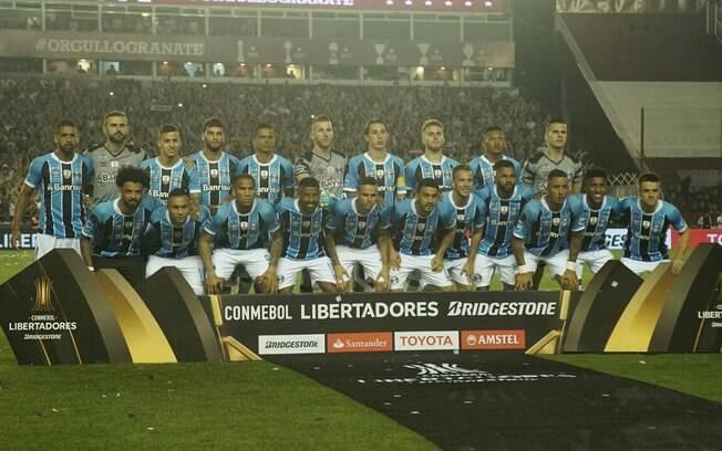 Elenco do Grêmio tricampeão da Libertadores da América