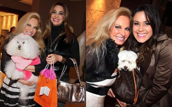 Brunete Fraccaroli: Sissi ganhou presentes e recebeu convidados