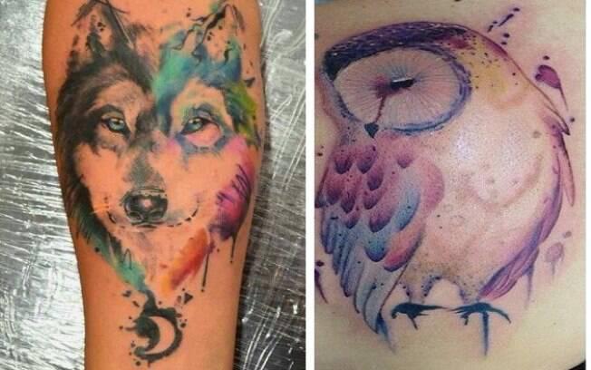 Essas tatuagens de animais são incríveis