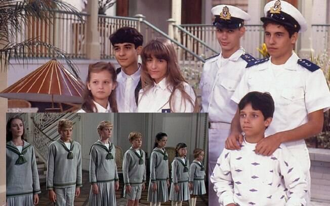 Os filhos do Capitão Jonas em