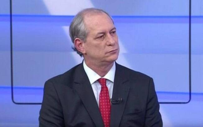 Ciro Gomes, candidato presidencial do PDT