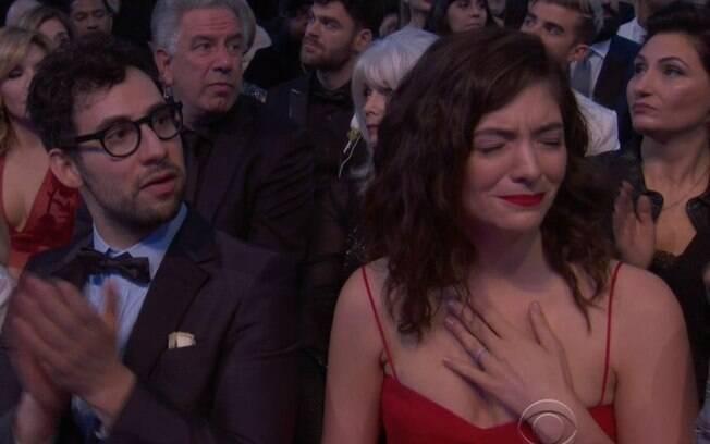 Lorde se emociona durante discurso de Camila Cabello no Grammy