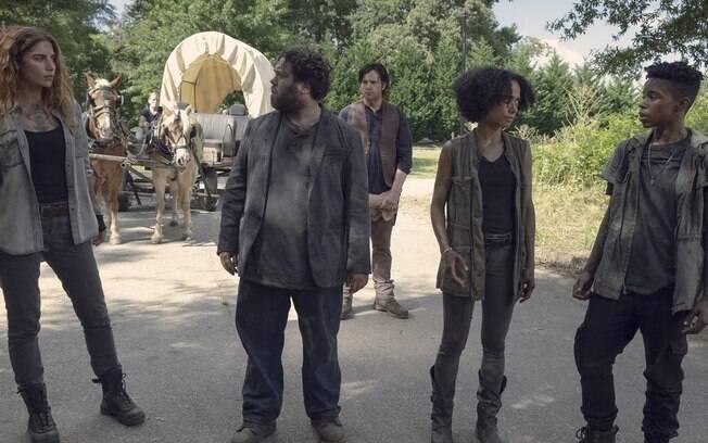 Novos personagens de The Walking Dead: saiu um protagonista branco, entra diversidade