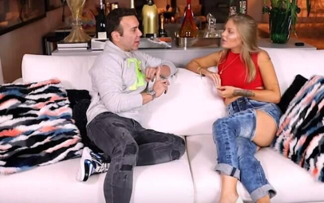 Luísa Sonza relevou em entrevista e Matheus Mazzafera que não queria casar e não tem vontade de ser mãe e sim adotar