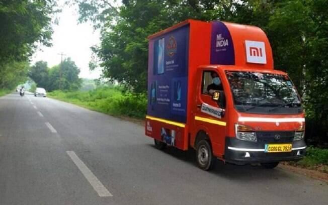 Xiaomi criou lojas itinerantes