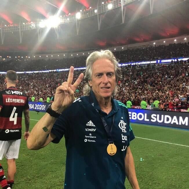 Jorge Jesus está próximo do Benfica