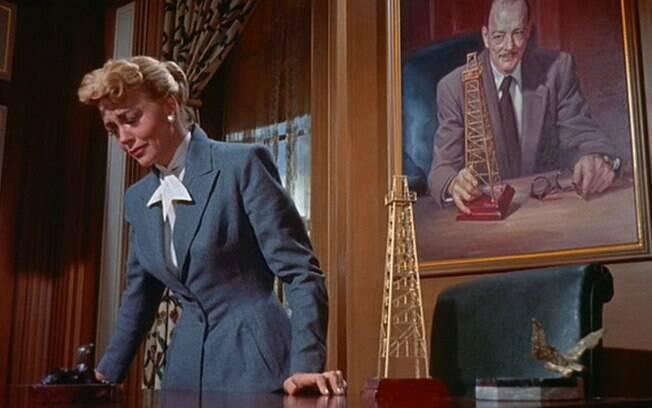 Dorothy Malone, vencedora do Oscar em 1957 por seu personagem no filme