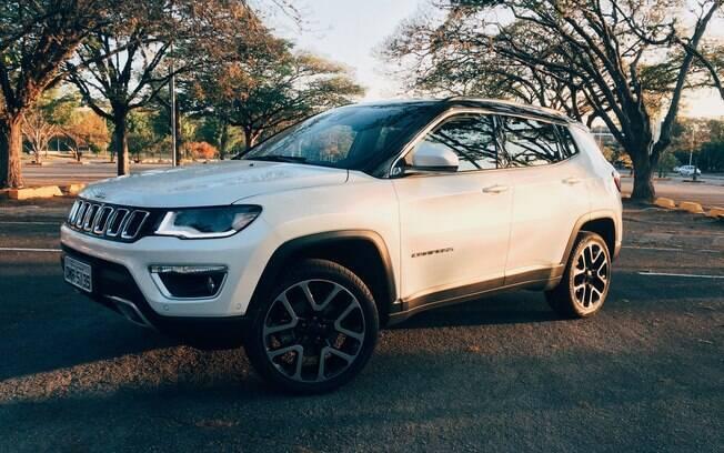 Jeep Compass Limited é uma nova versão da linha 2018 do SUV, abaixo apenas do mais radical Trailhawk