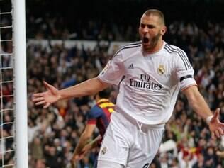 Karim Benzema , com lesão muscular sofrida na última rodada do Espanhol, poderá ficar de fora da final da Liga dos Campeões