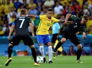 Brasil e Alemanha jogaram a final do futebol nos Jogos Olímpicos do Rio de Janeiro