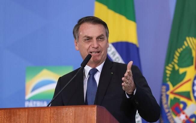Em Belém, Bolsonaro fez apelo à Câmara e ao Senado para que não derrubem decreto das armas