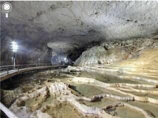 Cavernas do Japão estão disponíveis para tour pelo Google Street View