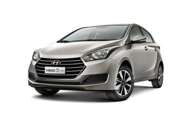 Hyundai HB20 vem perdendo fôlego nas vendas, o que mostra a necessidade de receber novidades para ter mais apelo