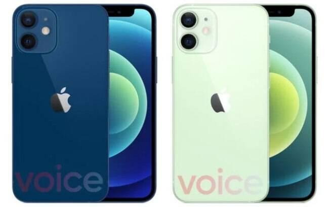 Vazamento do iPhone 12 mini
