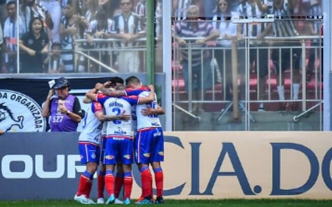 Com gol de Gilberto, Bahia bate o Atlético-MG no Horto