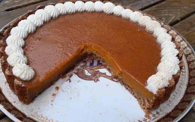 Ana Maria Braga ensinou a fazer uma receita de torta de abóbora para o lanche da tarde