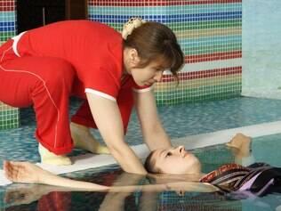 Hidroginástica: atividade física campeã entre as grávidas