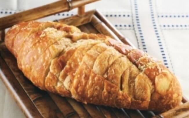 Foto da receita Pão de alho pronta.
