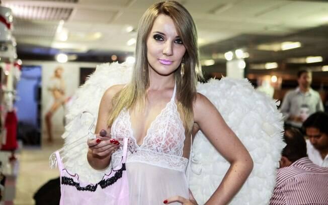 A marca americana Baci Lingerie apresentou suas lingeries de luxo a preço acessível