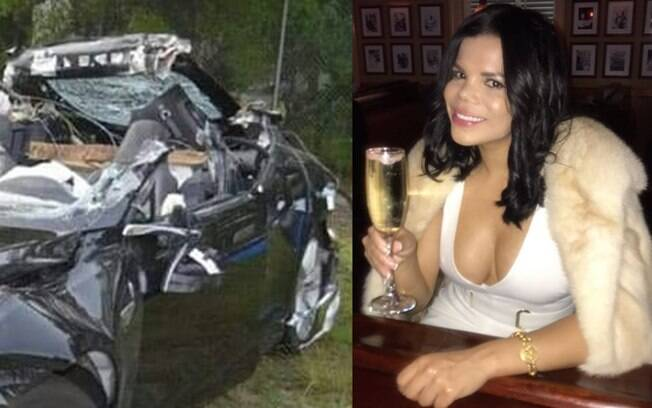 Destroços de carro foram atribuídos a possível acidente de Day McCarthy
