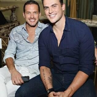 O casal em evento da Mercedes-Benz Fashion Week, em setembro de 2013, em Nova York