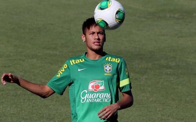 Treino da seleção brasileira em Fortaleza  (17/6)