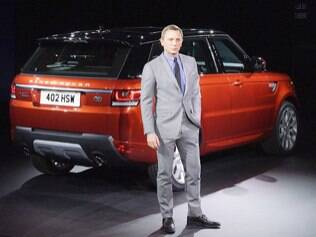 007 revela o novo Range Rover Sport