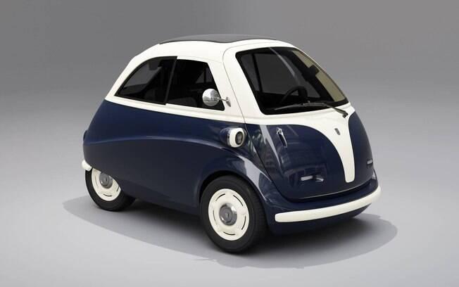 Karo-Isetta branco e azul