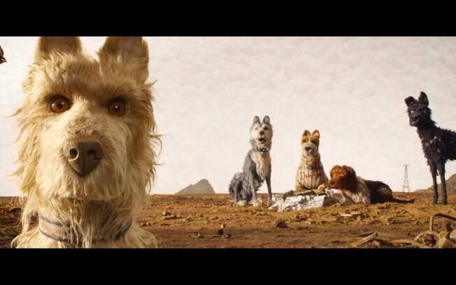 Cena de Ilha dos Cachorros, que estreia nesta quinta-feira (19) nos cinemas brasileiros