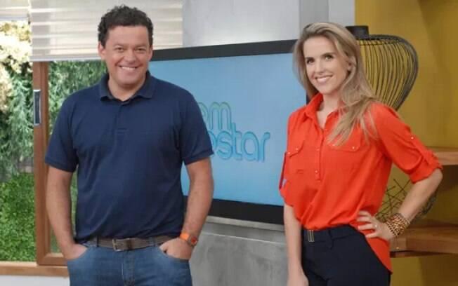 Fernando Rocha e Mariana Ferrão, ex-apresentadores do