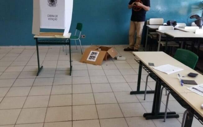 Em colégio de Sorocaba, dez das 15 urnas foram vandalizadas