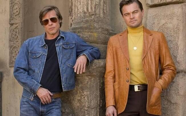 Brad Pitt e Leonardo DiCaprio estrelam