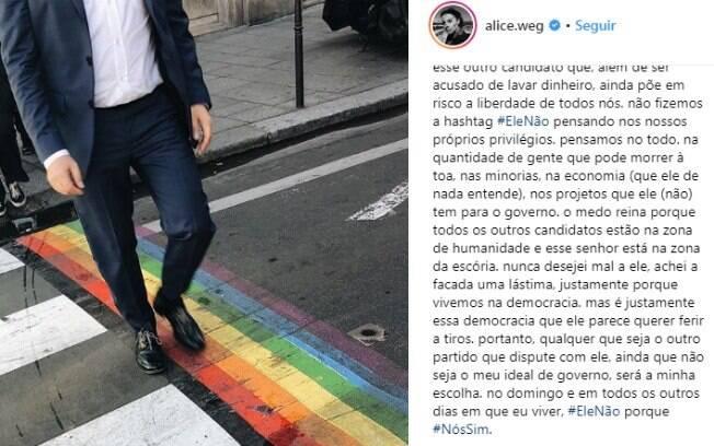 Famosos contra Bolsonaro que utilizaram de argumentação nas redes sociais