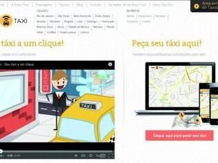Easy Taxi.   Aplicativo é um dos mais populares no Brasil e poderá ser escolhido por fabricantes