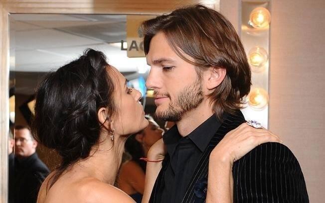 Demi Moore e Ashton Kutcher: separação após seis anos de casamento