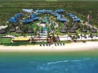 Vista aérea do Resort Summerville em Porto de Galinhas Pernambuco