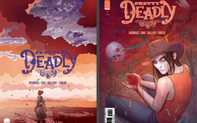 Deathface Ginny é a filha da Morte. Ela vinga pessoas vítimas de violência