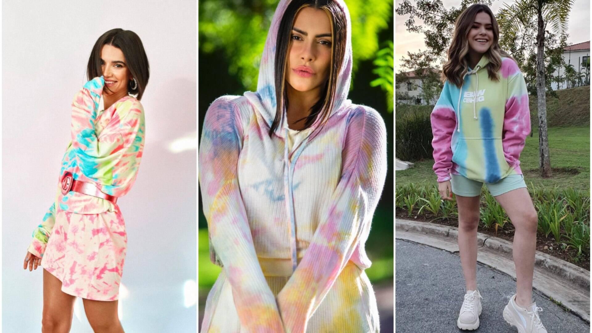 Tie-dye: a tendência queridinha das famosas