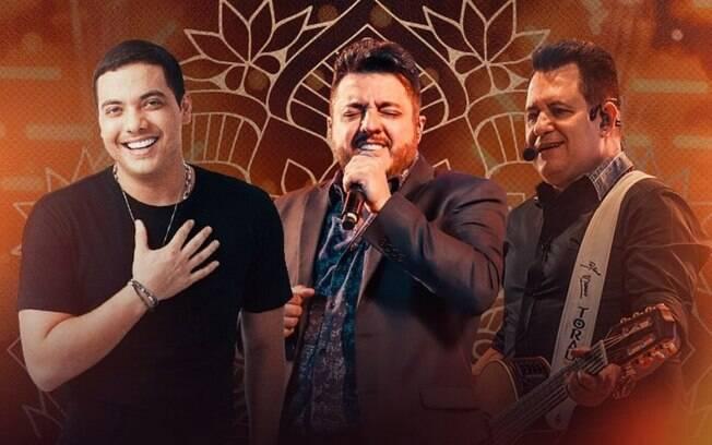 Wesley Safadão, Bruno e Marrone e mais: confira a programação completa das lives do fim de semana