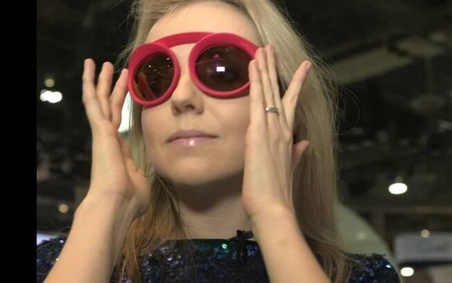 fdf8f617f09 Óculos impresso em 3D é uma das novidades da CES 2016. A expectativa é de