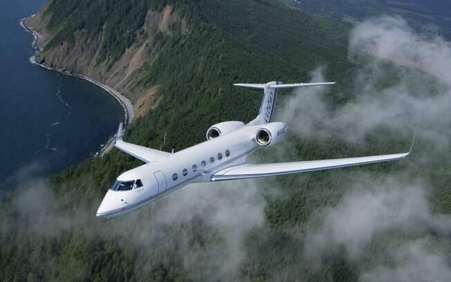 Eike coloca à venda seu jatinho Gulfstream 6550 avaliado em US$ 60 milhões. Foto: Divulgação