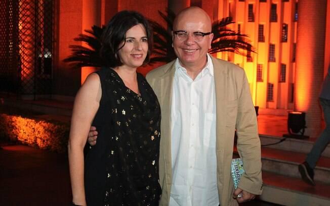 Marcelo Tas com a mulher, Bel