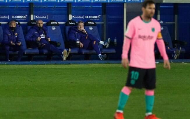 Ronald Koeman fala sobre motivação de Messi